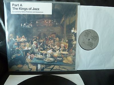 Part A The Kings of Jazz, G. Peterson, Jazzanova, 2 X LP, nm, 2006, Jazz