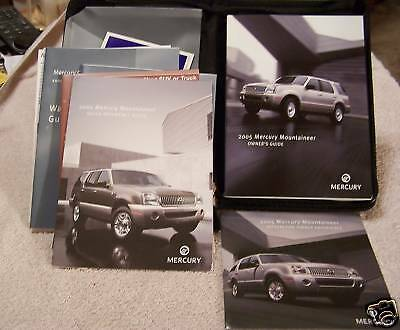 **NEW** 2005 Mercury Mountaineer SUV Owners Manual 05