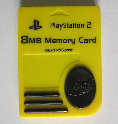 Memory Card 8 MB for Playstation2 PS2