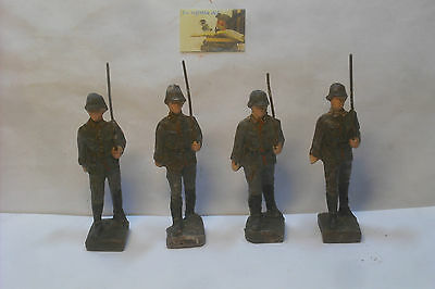 Soldatini Toy soldiers Lineol Germany Tedeschi in Pasta cm 6,5