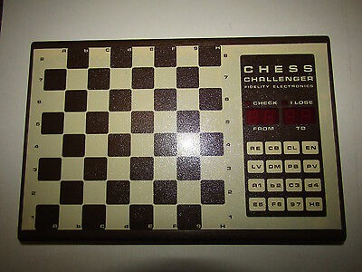 1970s Fidelity Electronics Chess Challenger Board Only TESTED WORKING -No power