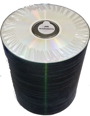 100 pack JVC (Taiyo Yuden) Advanced White Thermal Printable CD-R 80 Minute 700Mb