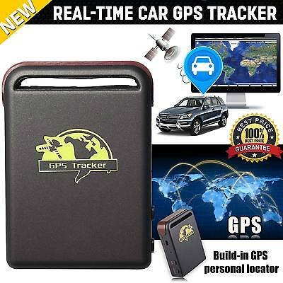 New Genuine Car GPS Tracker Magnetic Device Vehicle Personal Tracking UK