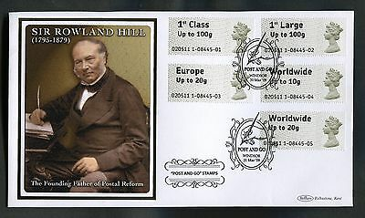 2009 Post and Go Benham fdc ( Sir Rowland Hill )