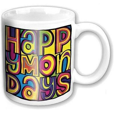 Happy Mondays - Dayglo Logo Ceramic Coffee / Tea Mug - New & Official In Box
