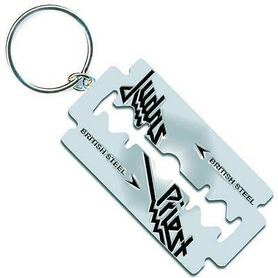 Judas Priest - British Steel Shaped Keyring - New & Official With Tag