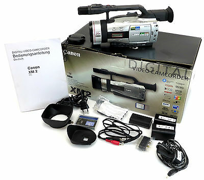 Canon 3CCD Digital Video Camcorder XM2, Video Lens 20x Zoom 1,6-2,9/4,2-84 bn004