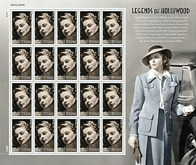 US SCOTT #5012a (2015) INGRID BERGMAN FORVER STAMP SHEET OF 20 NEW SEALED MNH