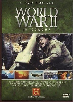 World War 2 in Colour - 5 x DVD Box Set [DVD] By The History Channel.
