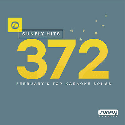 Sunfly Karaoke Hits SF372 February 2017 (CDG) Official Sunfly - Free UK Post