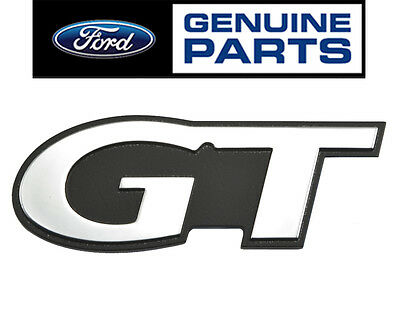 1999-2004 OEM Genuine Ford Mustang GT 4.6 L Fender Trunk Chrome and Black Emblem