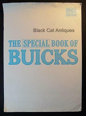 Original 1964 GM Edition Special Book Of Buicks Car Dealer Brochure From Canada