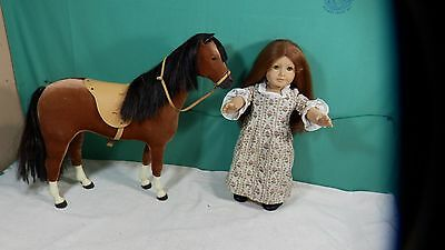 American Girl Doll Felicity friend of Elizabeth X Retired  With Horse