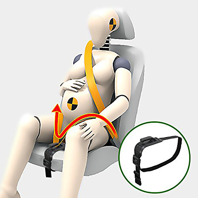 Zuwit Bump Belt, Maternity Car Seat Belt Adjuster, Comfort & Safety for Pregnant