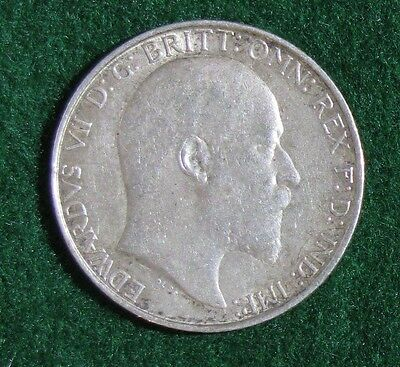 1910 Great Britain Florin (2 Shillings) Silver KM #801 Choice VF
