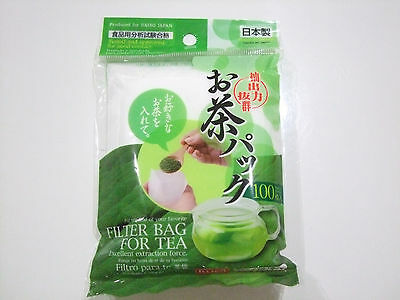 100pieces Empty Filter Bag for Tea/Made in Japan