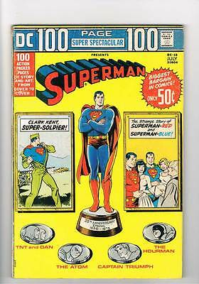 DC 100pg Super Spectacular # 18 I Sustain the Wings ! grade 4.5 scarce book !!