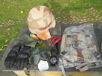 French Foreign Legion 2 REP-helmet M-L kevla+ camelback+set