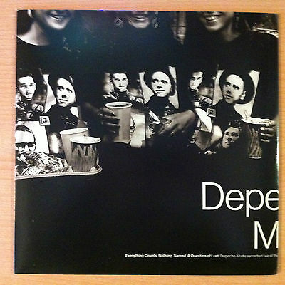 "DEPECHE MODE "" Everything Counts ""(Live) - Vinyl  12"" - Sire ‎ 0-21183 - 1989 US"