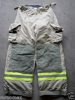 32x28 Globe Pants- FIREFIGHTER TURNOUT Bunker Gear - Nomex Liner #17