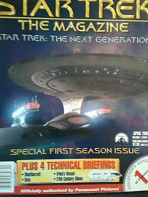 Star Trek The Magazine April 2002 The Next Generation By Paramount Pictures