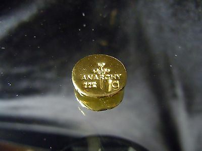 (2) 1 GRAM BAR USA BULLION 1g 22K PLACER GOLD ROUNDS FROM MINE X LOT 135 ANARCHY