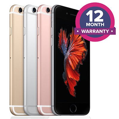 Apple iPhone 6S Unlocked Smartphone - 16GB 32GB 64GB 128GB - All Colours