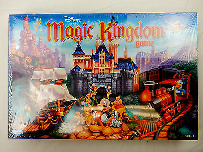 Disney Magic Kingdom Board Game Mickey Mouse Donald Duck Tokens 2004 New Sealed
