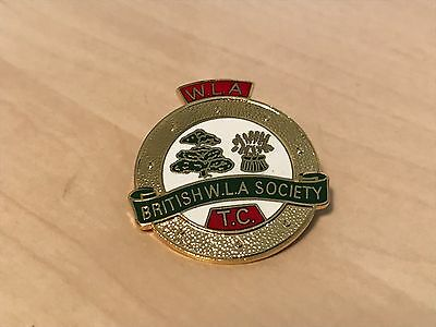 Vintage British Women's Land Army Society Timber Corps Enamel Badge