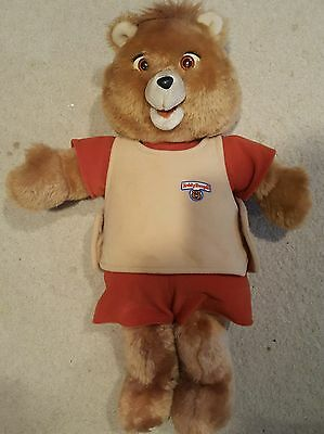 1984 Teddy Ruxpib original. Not sure if it works. Missing the battery back