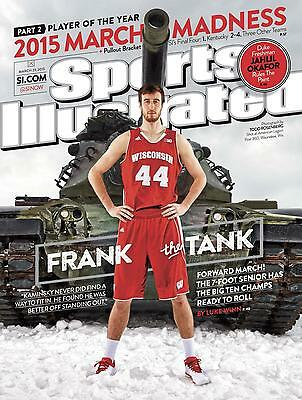 Brand New Unread 2015 Ncaa University Of Wisconsin Badgers Sports Illustrated