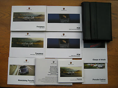 Porsche Panamera Owners Handbook/Manual and Pack 09-13