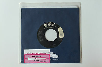 """Hole Doll Parts Rare Jukebox 7"""" Record Courtney Love Babes In Toyland L7 Nirvana"""