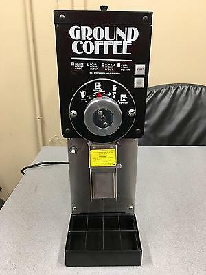 Grindmaster 810 Commercial Coffee Grinder & Warranty Cert. CONTACT 2 SHIP
