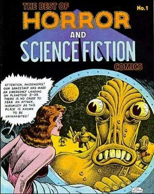 THE BEST OF HORROR AND SCIENCE FICTION COMICS #1 [Basil Wolverton, Bob Powell]