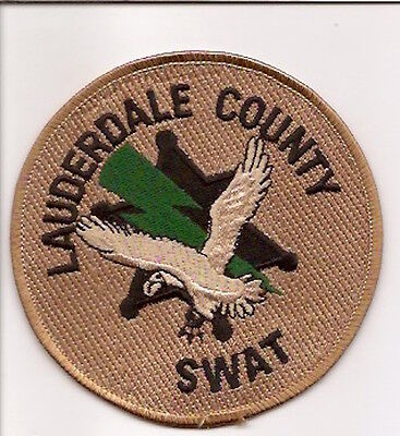 Usa- Lauderdale County Swat Patch