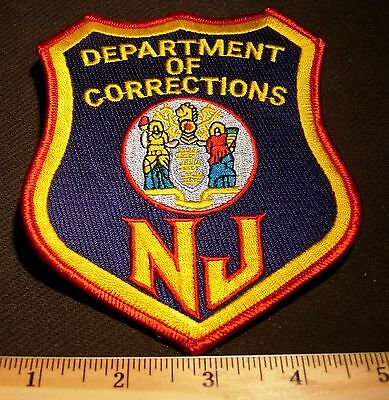 Department Of Corrections New Jersey Police Patch -BIG