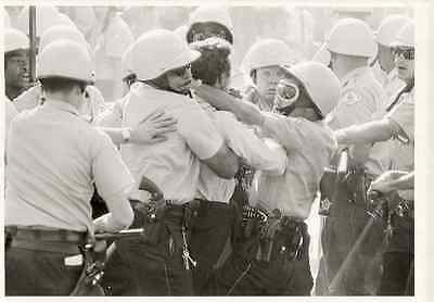 Sept. 4 1966 Chicago Civil Rights Protest March Heckler Police AP Wirephoto