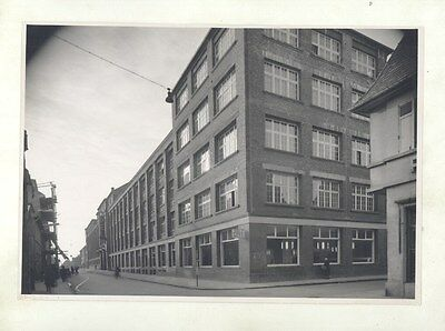 1940's Opel Factory Building ORIGINAL Factory Photograph ww5807