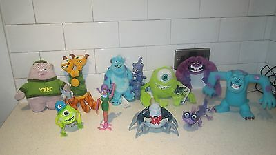 Monsters University Inc Sulley Mikey Waternoose Squishy Randall Art Terry Toys