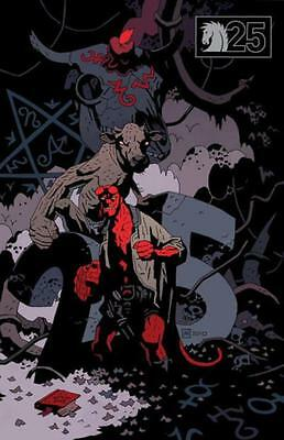 HELLBOY: BUSTER OAKLEY GETS HIS WISH #1 [Variant cover; Mike Mignola]