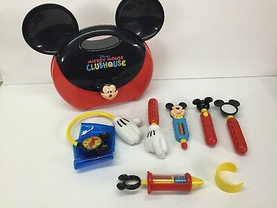 MICKEY MOUSE CLUBHOUSE talking medical doctor's nurse's kit set DISNEY