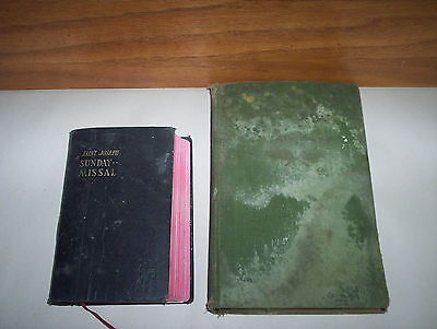 Jesuit Martyrs of Canada Slain in Mohawk Valley HC Book 1925 & Sunday Missal Lot