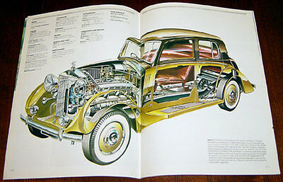 Rolls-Royce Phantom - technical cutaway drawing
