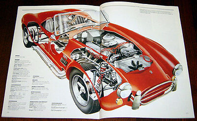 AC Cobra - technical cutaway drawing