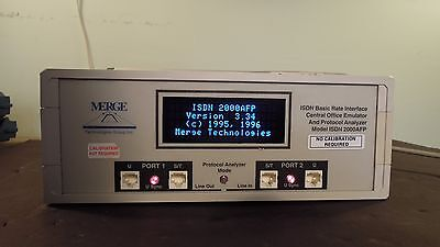 Merge ISDN 2000AFP Basic Rate Interface Central Office Emulator w/software