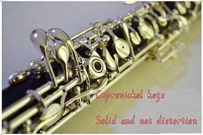 Silver Plated C Key Semiautomatic Oboe with 3rd Octave Key with E Key