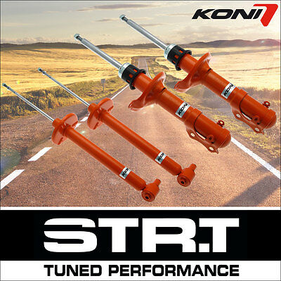 KONI Shock Absorber STR.T Front Axle Rear Axle 4x (11896)