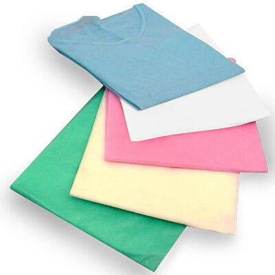 50 Pieces Isolation Cover Gowns Elastic Cuff Disposable FDA Approved