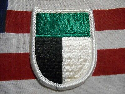 US ARMY 1ST Special Operations Command Airborne Beret Flash m/e